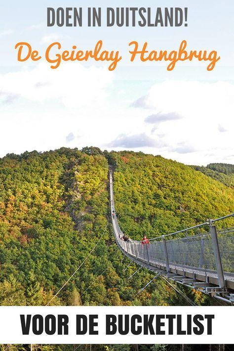 De Geierlay Hangbrug – een must-do in Duitsland