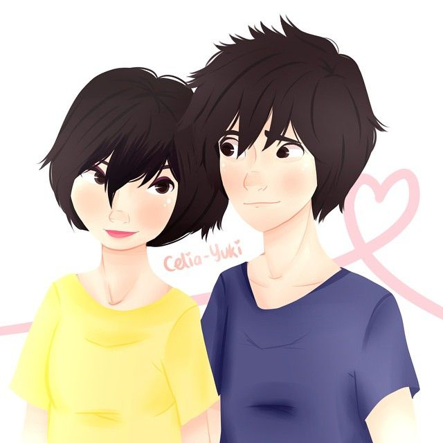 Hiro And Gogo Fanart 51 best images about H...