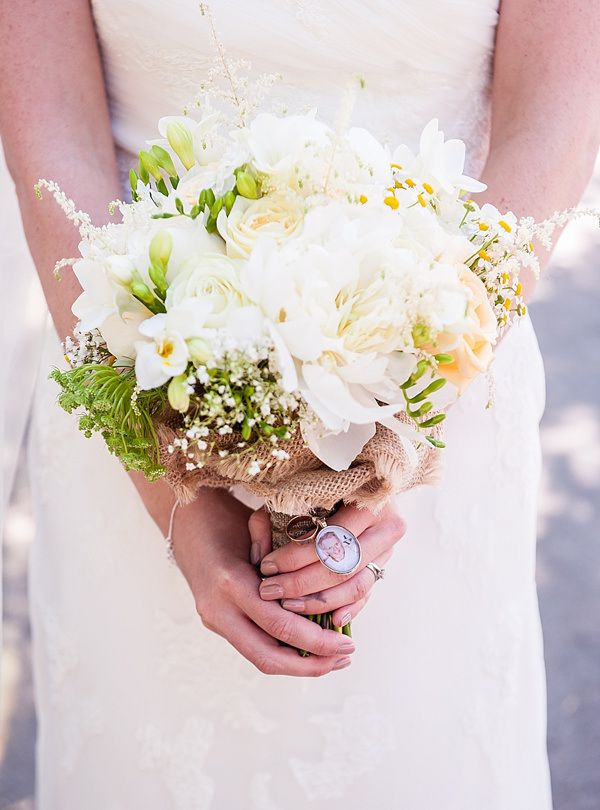 Quirky Rustic Lemon Yellow Wedding Daisy Peony Bridal Bouquet White Green http://www.motifphoto.co.uk/