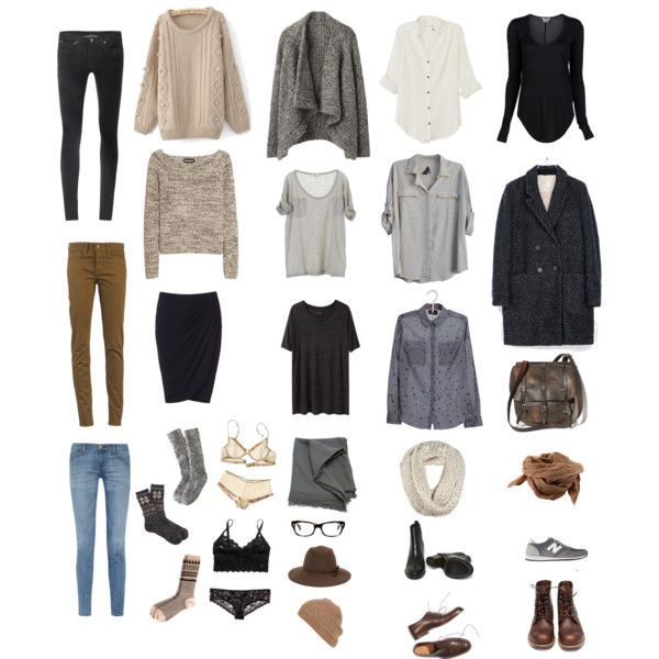 "Some outfit combinations for ""packing for the holidays"" by mikazuki-usagi, Polyvore"