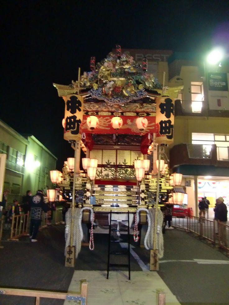 秩父夜祭 宵山 2012.12