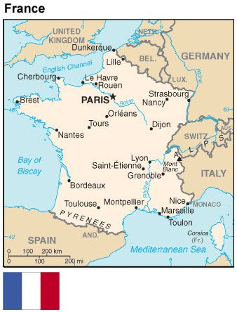 Best Passport Ideas Images On Pinterest - Map of france travel to us destination