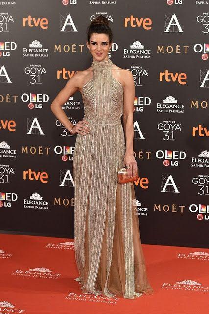 Fantasy Fashion Design: Los diseños más fascinantes de la alfombra roja de los Premios Goya 2017