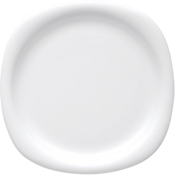 Rosenthal Suomi White Dinner Plate (1,530 THB) ❤ liked on Polyvore featuring home, kitchen & dining, dinnerware, no color, rosenthal china, rosenthal dinnerware, contemporary dinnerware, white dinnerware and rosenthal