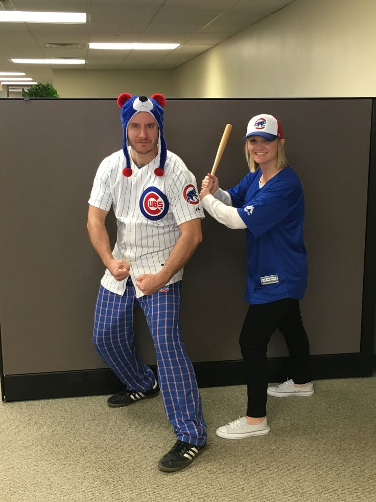 creative halloween costume for the office cub and cubs fan - Best Halloween Costumes For The Office