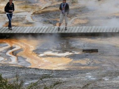 Geothermal formations at Orakei Korako look like something out of Mordor!