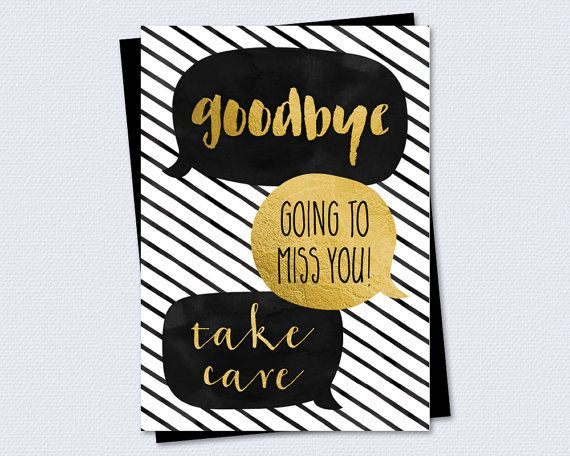 9 best cards images on Pinterest Cards, DIY and Birthday cards - free farewell card template