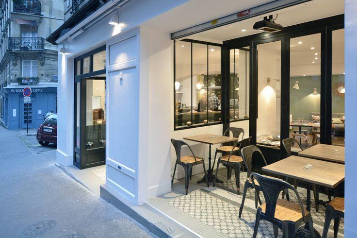 Photos de espaces commerciaux de style cr ation d 39 un for Terrasse de restaurant couverte