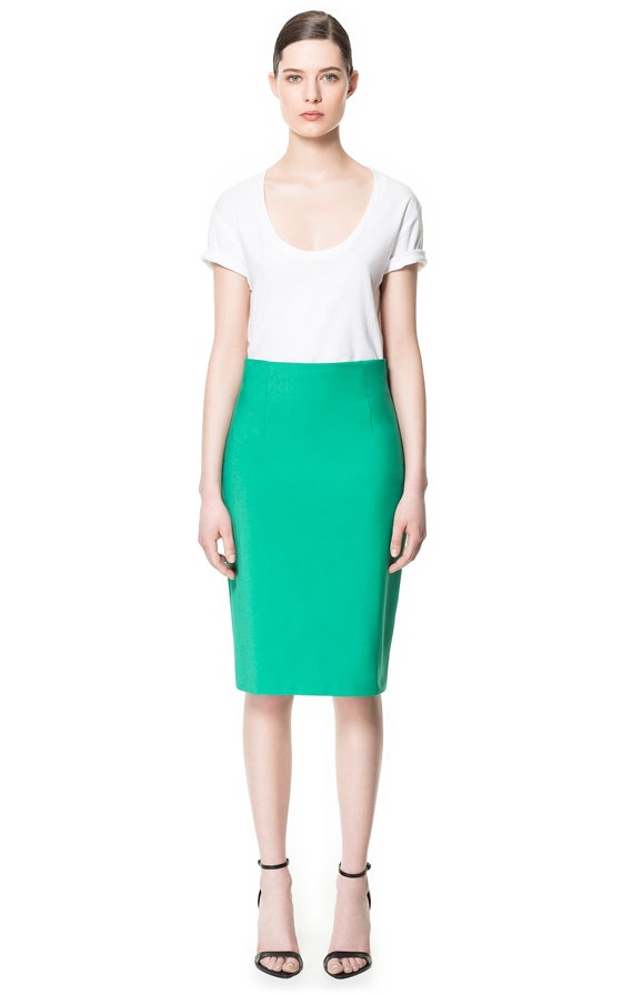 Image 1 of PENCIL SKIRT from Zara