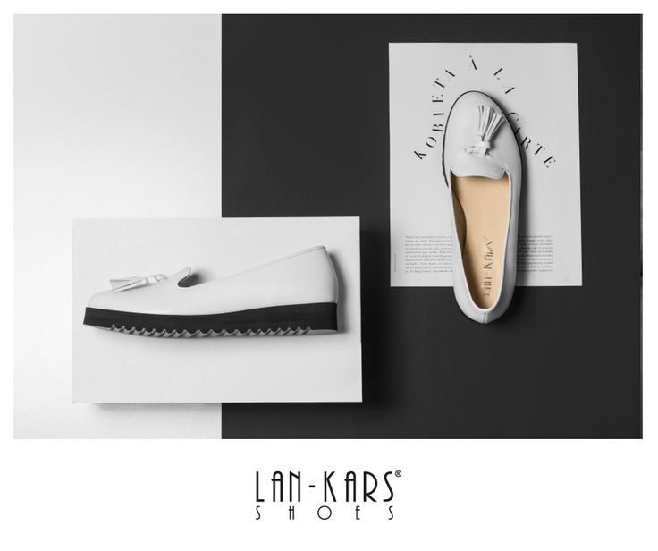 Klasyczne, czarno-białe lordsy.  #shoes #bw #black #white #classic #lords #comfortable #leather #lankars