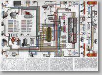 Схема электрооборудования ВАЗ-2101, ВАЗ-2102