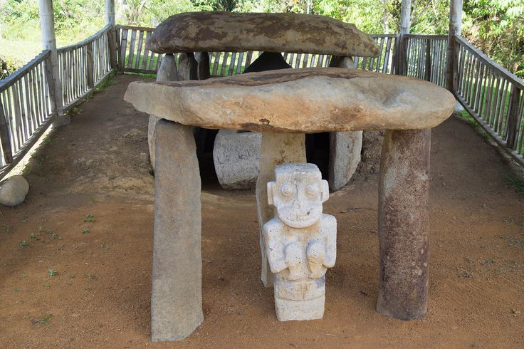 https://flic.kr/p/sw7yAa | Alto de los Idolos -  Alto de las Piedras - Colombia | San Agustin, Colombia    Archaeological Park , 'Alto de los Idolos'  and  'Alto de las Piedras'  San Agustín - Archaeological Park The largest group of religious monuments and megalithic sculptures in South America stands in a wild, spectacular landscape. Gods and mythical animals are skilfully represented in styles ranging from abstract to realist. These works of art display the creativity and imagination of a…