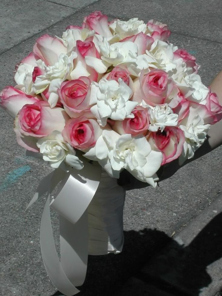 pure pink rose bouquet - photo #41