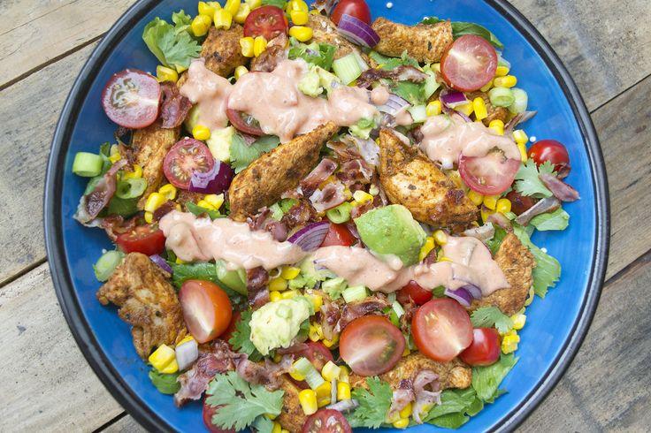 FOOD: Taco Kip Salade