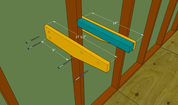 Garage Shelves Plans | Free Outdoor Plans - DIY Shed, Wooden Playhouse, Bbq, Woodworking Projects