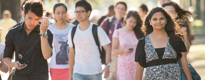 Current Students website - information about all things student at UNSW