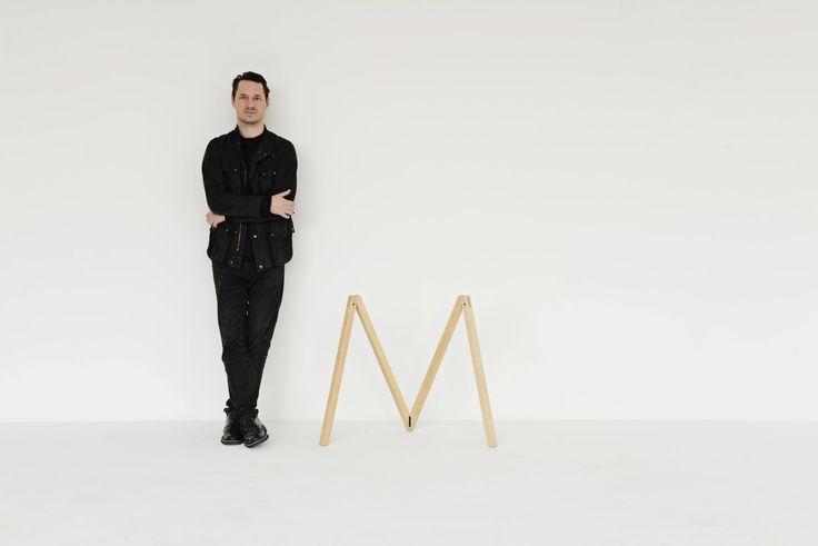 Julien De Smedt, the designer of the Accordion trestle. #mwa #makerswithagendas #mwadesign #agendadrivendesign #mwagram #nomadicliving #minimallogistics