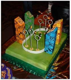 quidditch cake
