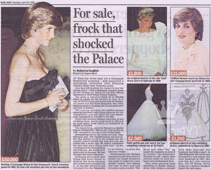 news article regarding princess or queen diana death