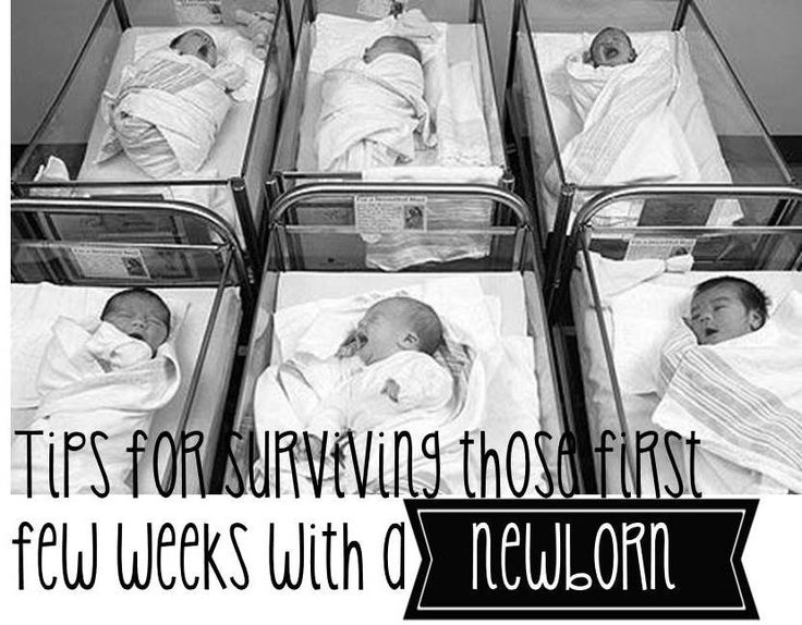 tips for surviving those first few weeks with a newborn  new mom tips / new parent tips