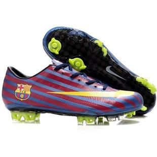 http://www.asneakers4u.com New Nike Mercurial Vapor Superfly III Elite Safari FG Firm Ground Barcelona Team Soccer Cleats Blue/Red/Yellow