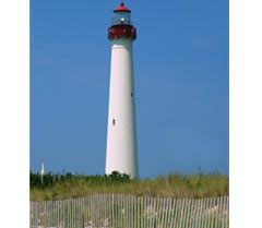 The Cape May Lighthouse: 215 Light House Avenue, Cape May Point, NJ: climbed the 199 steps to the top.