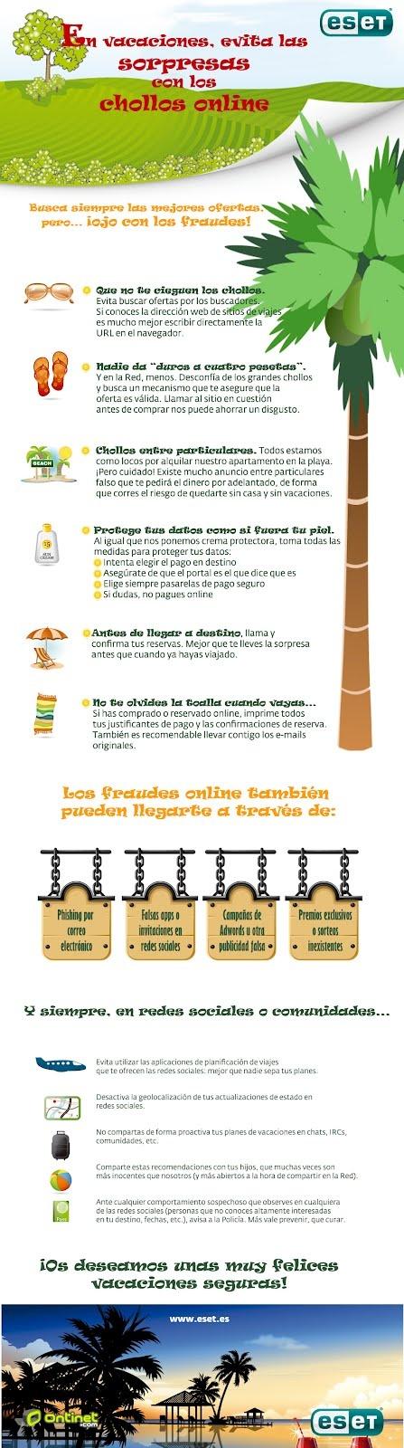 Ten cuidado con los chollos online para tus vacaciones