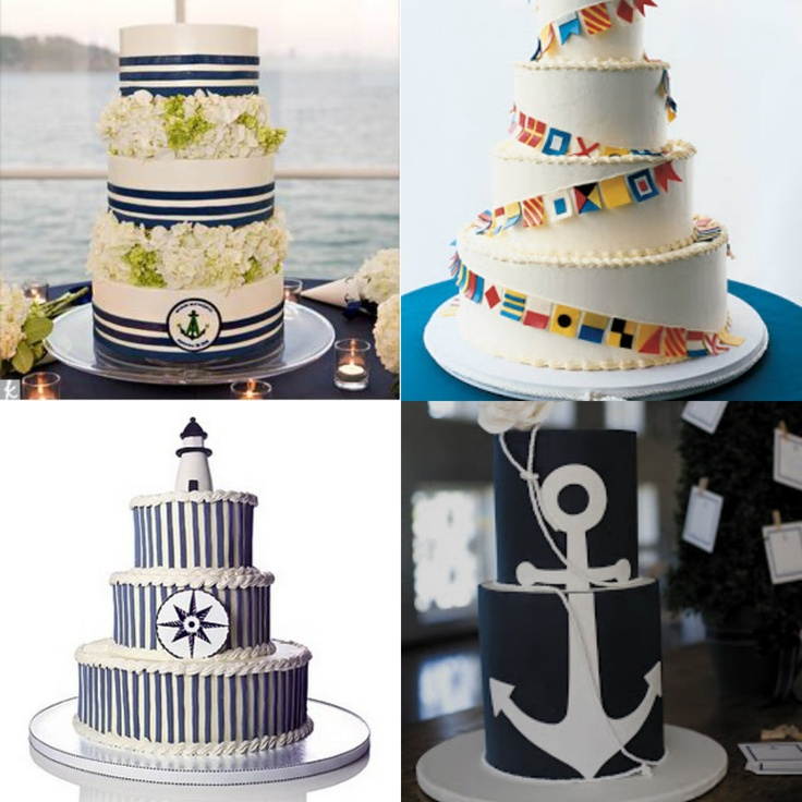 17 Best Images About Cake Inspiration Nautical Themed Cakes On Pinterest