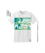 Michigan State football ticket shirt by ROW 1.™ http://www.michiganfootballgifts.com/ Michigan football gifts!