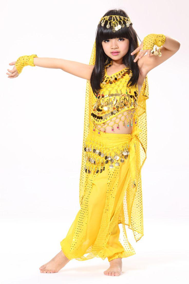 19.52€ Aliexpress.com: Comprar Espectáculo de danza del vientre del vientre traje de la danza India danza niños indio trajes de danza India de baile de disfraces en venta fiable proveedores en ChaoZhou Beaded & Embroldered Craftwork Co.,Ltd.