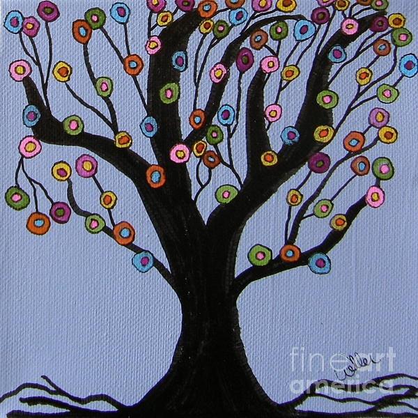Spring Tree -- Artist: Marcia Weller-Wenbert