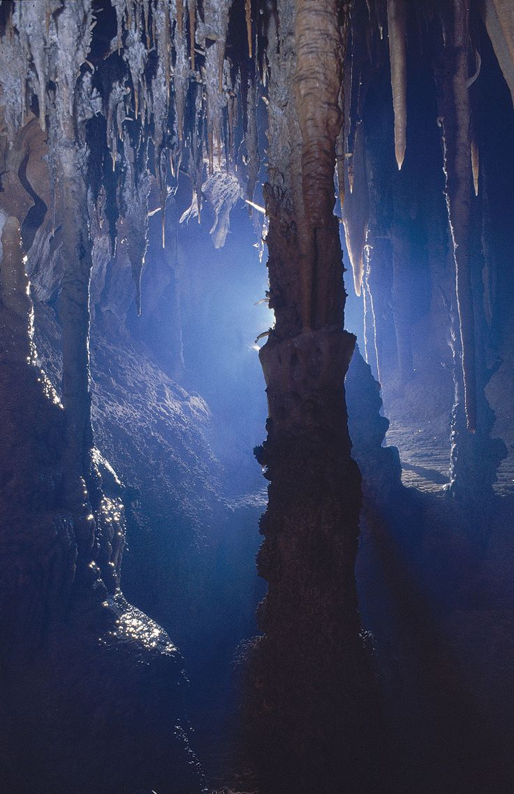 Jenolan Caves in the Blue Mountains, east of Sydney, NSW