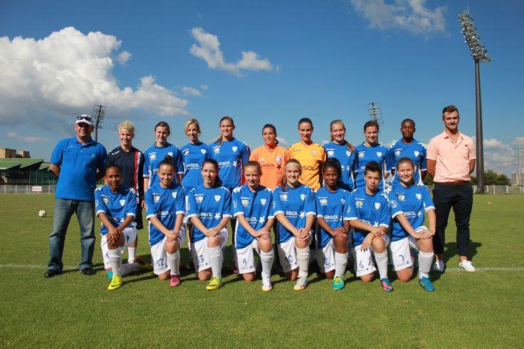 2014 SASOL League team in Away kit