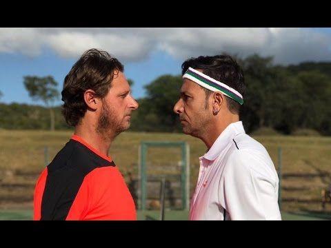 Martín Bossi y David Nalbandian, tenis y diversión en Unquillo | ElDoce.tv