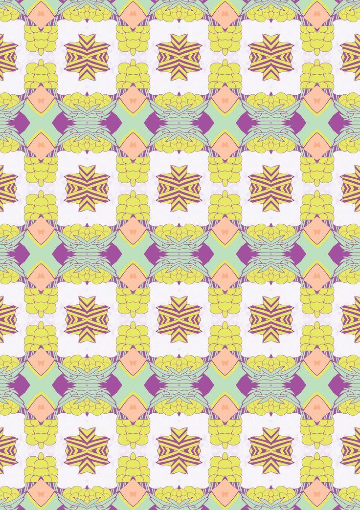 Natalia Segerman original illustrations - Cockatoo Patterns