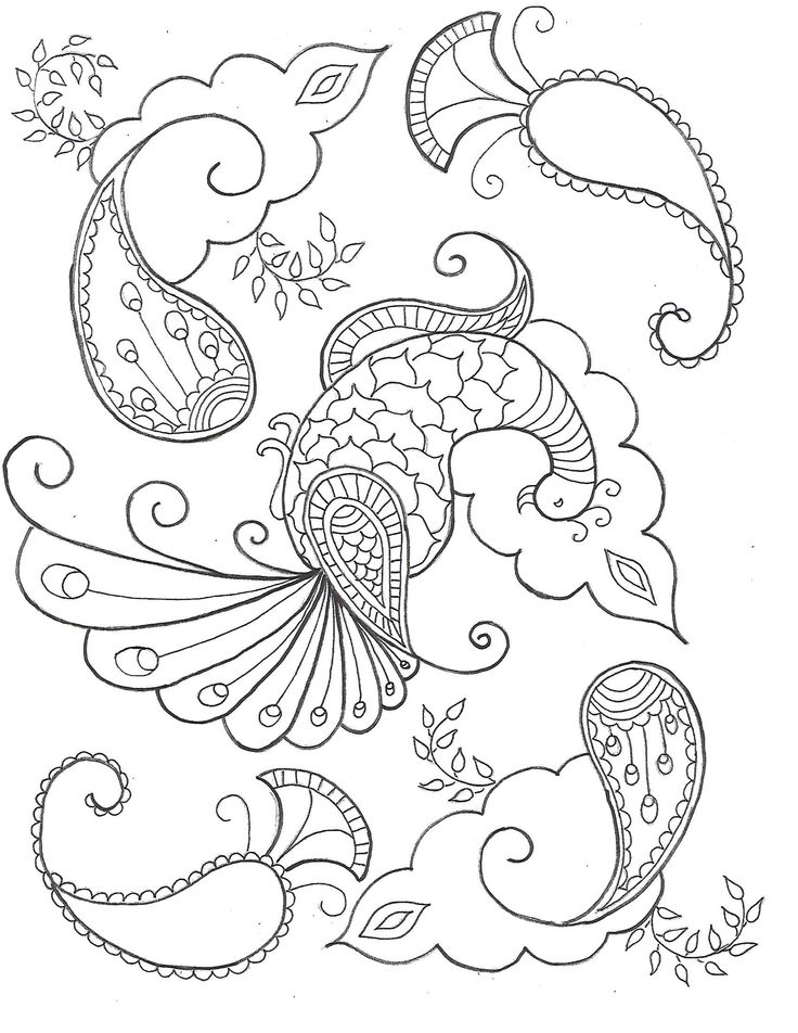 starting my colouring book!