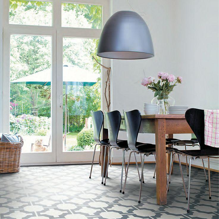 neisha crosland for harvey maria vinyl floor tiles parquet charcoal pack of 12