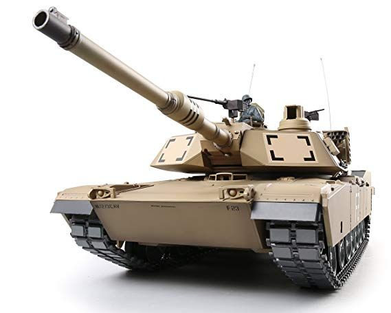 Amazon com: Heng Long RC Tank 1:16 US Army M1A2 Abrams Main