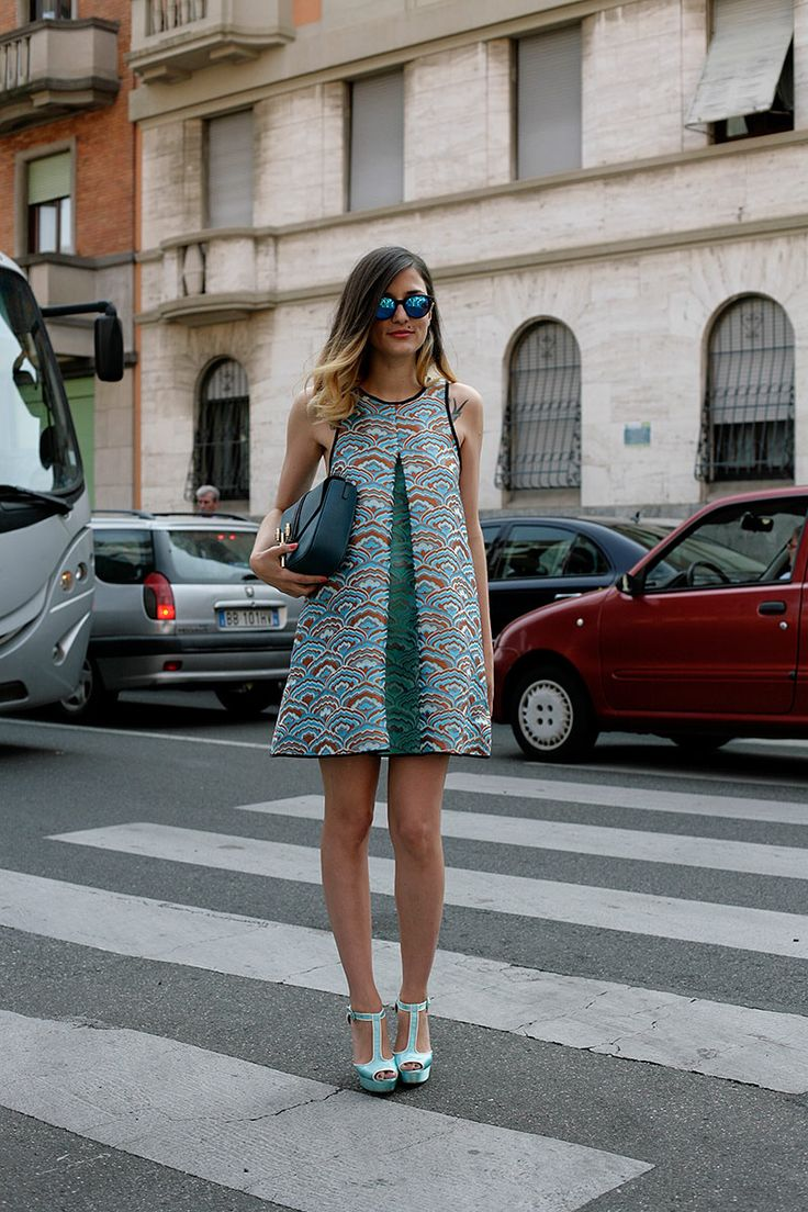 #ranitasobanska #fashion #inspirations Moda en la calle street style inspiracion verano 2013 - Eleonora Carisi