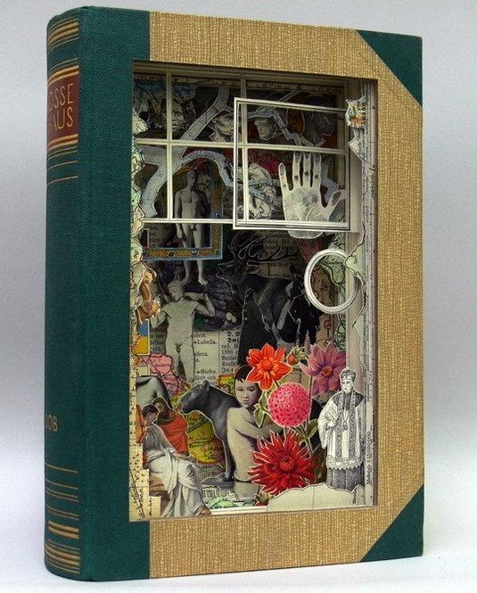 3d book art