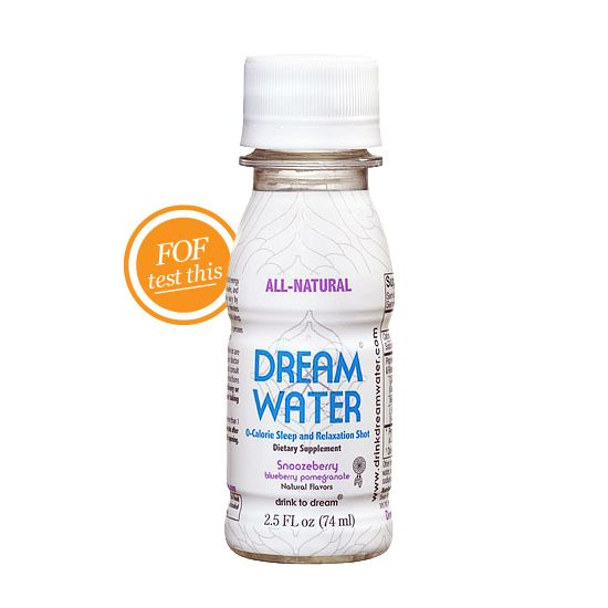 Dreamwater, having trouble sleeping? Try this!