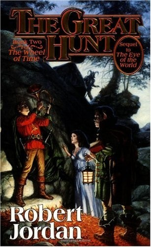 The Wheel of Time series - love it!