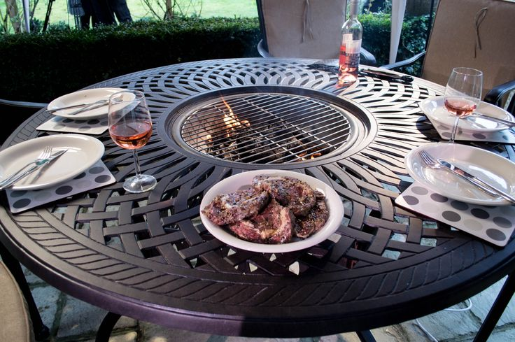 fire pit bbq table uk - Google Search