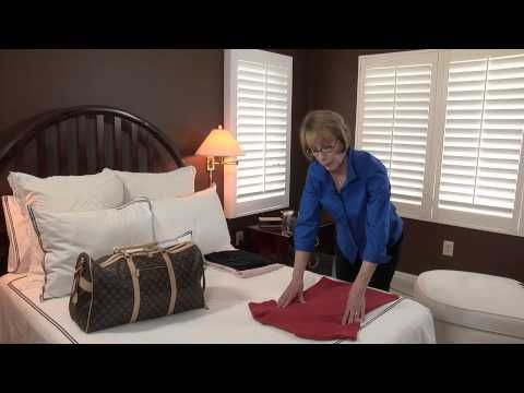 ▶ How to Roll Clothing for Packing : Smart Packing  Travel Tips - YouTube
