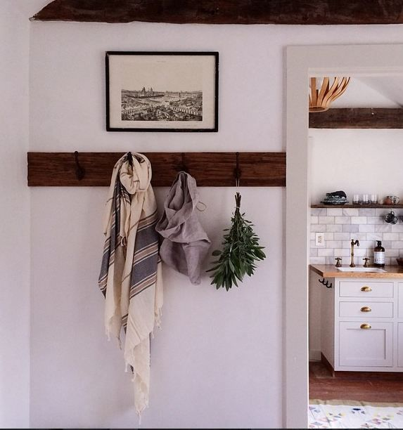 Coat Rack Wall Entryway Small Spaces Apartment Therapy
