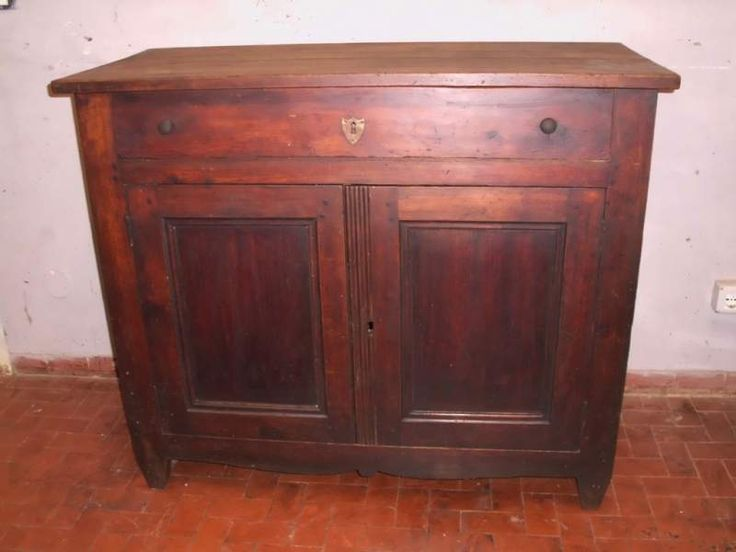 Credenza in massello originale di epoca 800'