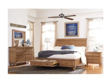 shop for aspenhome queen wood sleigh bed headboard i72400w and other bedroom - Jessica Mcclintock Bedroom Furniture