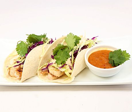 Mahi mahi fish tacos          Mahi Mahi Fish Tacos with Chipotle Slaw and Roasted Pineapple Sauce Recipe  | Epicurious.com