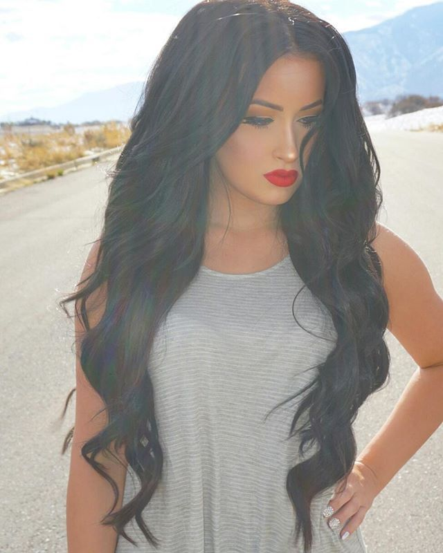 Wearing my @bellamihair extensions for long voluminous hair every day  TAYA5 for a discount at checkout ❤
