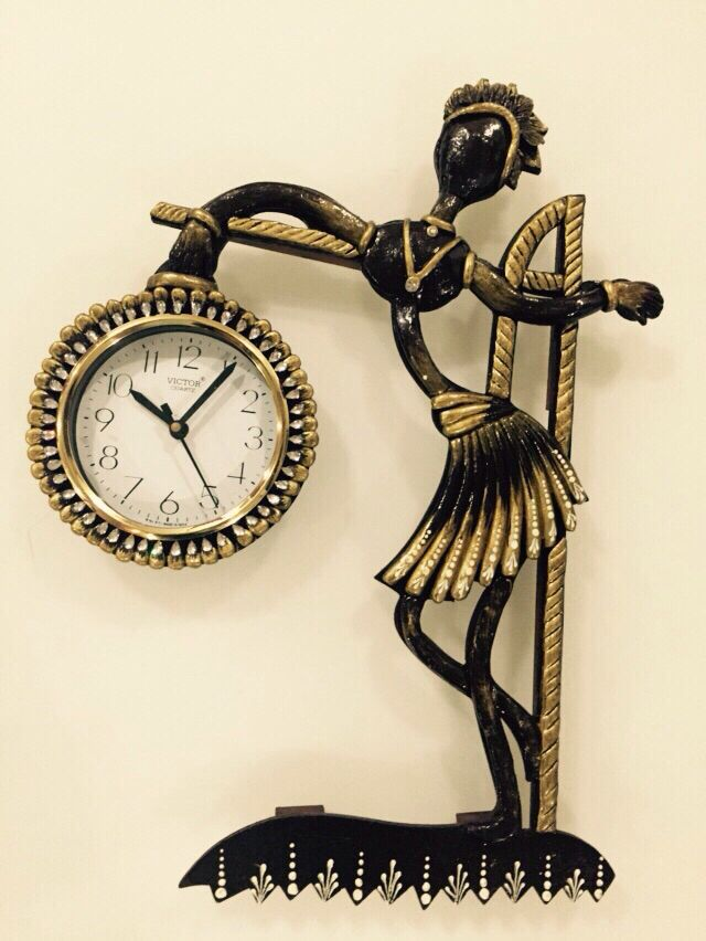 Handcrafted wooden wall clocks  Home décor Diwali gifts
